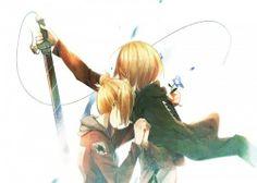 Annie and Armin, Shingeki no Kyojin/Attack on Titan