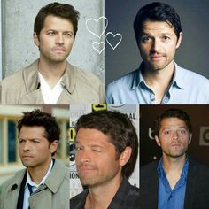 Misha Collins  Collage by alex