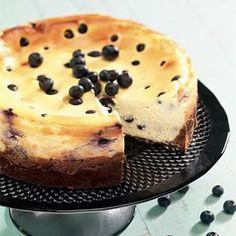 Recette cheesecake aux myrtilles - Cuisine / Madame Figaro
