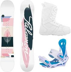 Compare Womens Beginner Snowboard Packages