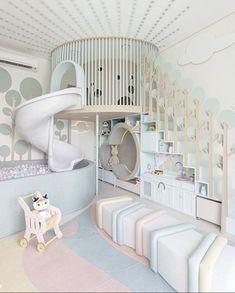 Bedroom For Girls Kids, Kids Bedroom Designs, Playroom Design, Room Design Bedroom, Room Ideas Bedroom, Home Room Design, Kids Room Design, Baby Room Decor, Bedroom Decor