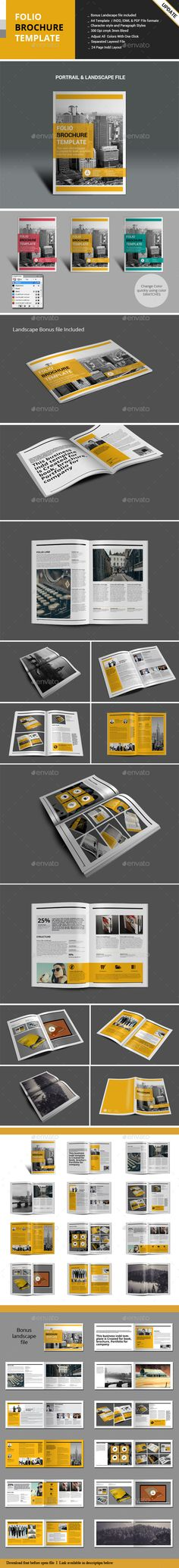 Folio Brochure Templates  —  InDesign Template • Only available here! → https://graphicriver.net/item/folio-brochure-templates/9337923?ref=pxcr