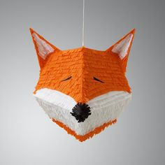 Fiona the Fox pinata by owithdoubledots on Etsy, $108.00