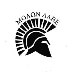 Molon Labe Spartan Helmet | Die Cut Vinyl Sticker Decal | Sticky Addic – Sticky Addiction http://www.stickyaddiction.com/products/molon-labe-spartan-helmet-die-cut-vinyl-sticker-decal-sticky-addiction