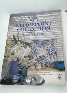 V & A Needlepoint Collection Book Karen Elder Instructions Ideas Photos DJ