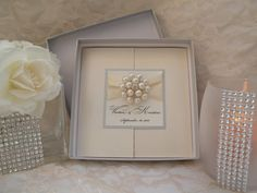 Brooch Boxed Invitations  Large Brooch by WrappedUpInDetails, $18.00