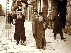 """""""Warsaw`s Jews on Nalewki street, Jewish Quarter"""" Poland - Warszawa (Warsaw), 1930s"""