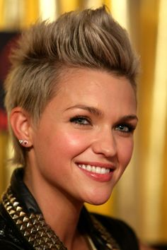 ruby rose hairstyle 2012