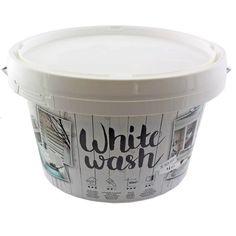 Kreidefarbe für Holz Vintage Shabby Chic Antiklook White wash - weiss 1 Liter: Amazon.de: Küche & Haushalt