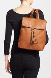 Sole Society 'Ellie' Vegan Leather Mini Backpack
