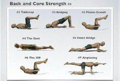 Strengthen your back & core