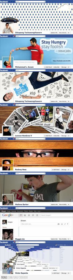 Creative Facebook Timeline Designs