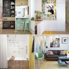 Klein aber fein: Wohnen auf kleinstem Raum!. Hier geht es zur kompletten Haustour: http://www.spaaz.de/inspiration/Klein-aber-fein-Wohnen-auf-kleinstem-Raum