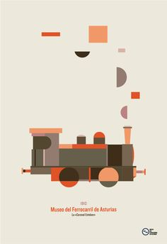 museo del ferrocarril de asturias on Behance