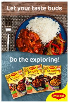 Discover more Maggi meal ideas: https://www.maggi.co.uk/products/so-juicy/?utm_source=pinterest&utm_medium=image&utm_campaign=curry