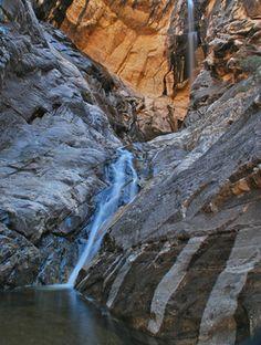 10 beautiful hikes around Las Vegas Las Vegas Hiking, Spring Mountain Ranch, Las Vegas Love, Hiking Spots, Best Hikes, The Great Outdoors, Waterfall, Places To Visit, Desert Oasis