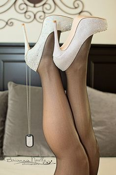 Heels and Dog Tags by Brianna Noelle Photography