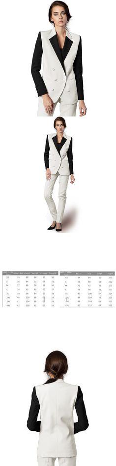 Jacket + Pants Women Business Suits Formal Suits Slim Fit Pant Suits Styles Stylish Uniforms Women's Pants 2 Office Ladies'