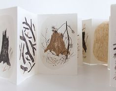 """Artist's book """"Stumps and twigs"""""""
