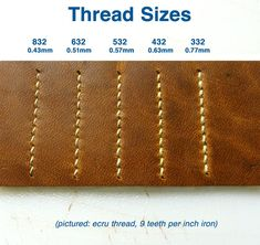 Ecru Linen Thread for Leather, Bookbinding, Costume Jewelry