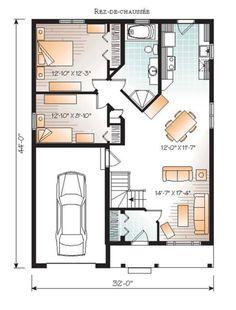 Modèle maison usinée 716