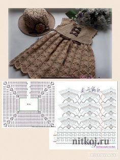 Smocking Patterns Baby Patterns Crochet Motifs Crochet Patterns Baby Girl Dresses Baby Dress Crochet For Kids Baby Knitting MacrameImage gallery – Page 307863324526319619 – Artofit Crochet Baby Dress Pattern, Baby Dress Patterns, Crochet Fabric, Crochet Diagram, Crochet Chart, Knit Crochet, Crochet Toys, Baby Girl Crochet, Crochet Baby Clothes