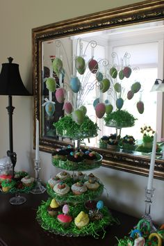 edible Easter decor (courtesy of my mother-in-law)