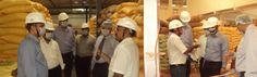 Sri Anish Damania, Co-CEO & Amol Dhariya, Director of IDFC Securities visited Kothur Plant.