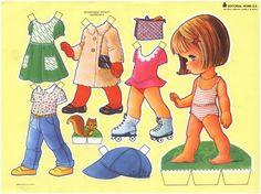Nuevos recortables de muñecas gratis. - Manualidades a Raudales