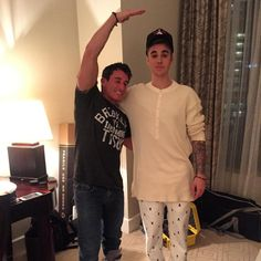 bertshowbert: Damn @ justinbieber was a foot shorter than me when we first met. Now? Smh.