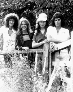Brian, Roger, John and Freddie
