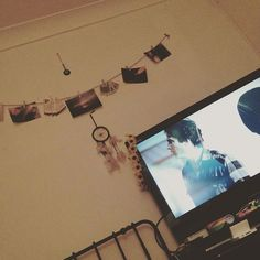 Something we loved from Instagram! The vampire diaries  #the #vampire #diaries #late #night #early #morning #telly #tv #raspberrypi #kodi #wall #string #photos #picture #photographs #dreamcatcher #dream #catcher #grunge #softgrunge #indie #softindie by 3milycharlott3 Check us out http://bit.ly/1KyLetq