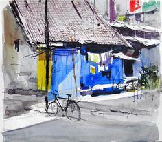 Milind Mulick Watercolour Paintings - 10