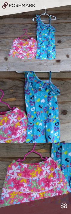 Sun Protection C/&J 2-Pack 12M-5T Baby Girls//Toddler Girls One Piece Swimsuit,UPF 50