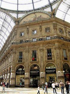 Galleria Vittorio Emanuele II  Fantastic shopping, stunning architecture.