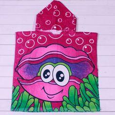 $7.29Cute Cartoon Shell Bubble Hooded Funny Beach Towel