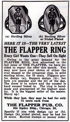 The Flapper Ring