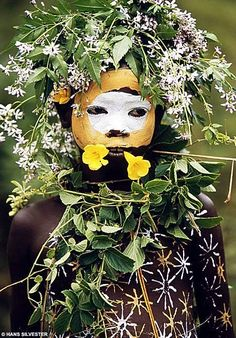 Surma and Mursi tribes of East Africa's Omo Valley.    Inspired by the wild trees, exotic flowers and lush vegetation of the area bordering Ethiopia, Kenya and Sudan, these tribal people have created looks that put the most outlandish creations of Western catwalk couturiers to shame.