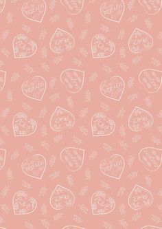 Lewis & Irene Patchwork Quilting Fabric Dove House - Chalk hearts on blush Baby Patchwork Quilt, Quilting Fabric, Dove House, Fabric Hearts, Mental And Emotional Health, Peaceful Places, Quilt Making, Irene, Blush Pink