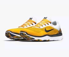 028bad492739ac Nike Free Trainer V7 Michigan Wolverines Mens Shoes 15 AA0881 700  Nike   RunningShoes Zero
