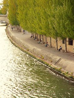 | ♕ |  Rive Droite - Seine bank, Paris  | by © maralina!