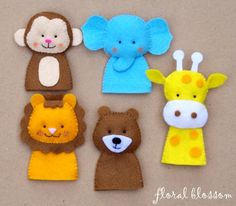 "Pinner said; ""The BEST pdf pattern for finger puppets I have ever used"""