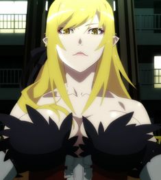 Kiss-Shot Acerola-Orion Heart-Under-Blade Anime Art Girl, Manga Art, Anime Manga, Anime Sexy, Dnd Characters, Female Characters, Shinobu Oshino, Kiss Shot, Monogatari Series