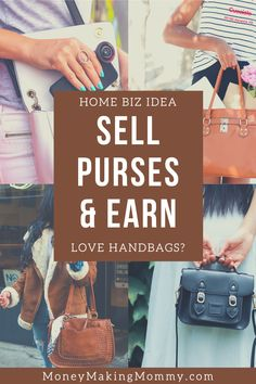 If you adore handbags and purses - this is the perfect home business for you to look into. You can even earn selling designer handbags. Find a reputable wholesaler and create a business you've only dreamed about. Direct Sales Companies, Work From Home Companies, Work From Home Opportunities, Work From Home Jobs, Successful Business Tips, Create Your Own Business, Cash From Home, Make Money From Home, Home Party Business
