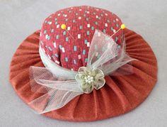 Pin Cushion Hat Instructions