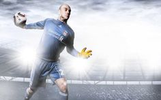 Pepe Reina- Liverpool Football Club #Photography #SportsPhotography #SimonDervillerPhotography #LiverpoolFootballClub #Sports #Football #Adidas