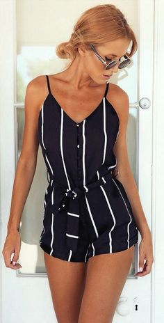 Stylish Lady Women Fashion Striped Summer V-neck Overall Jumpsuit https://www.meetyoursfashion.com/products/stylish-lady-women-fashion-striped-summer-v-neck-overall-jumpsuit