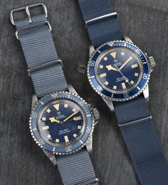 Tudor MN Snowflake 1979 and 1980 Marine Nationale Tudor Heritage Black Bay, Tudor Black Bay, Tudor Submariner, Rolex Submariner, Best Looking Watches, Cool Watches, Rolex Tudor, Vintage Watches For Men, Seiko Watches