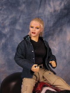 casual or working rider doll for Breyer, Peter Stone, resin horses,Yvonne Zica