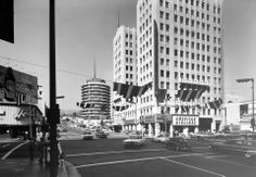A circa 1963 view of Hollywood & Vine from our Dick Whittington Photography Collection: